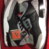 "Jordan 3 OG Retro ""Black Cement"""