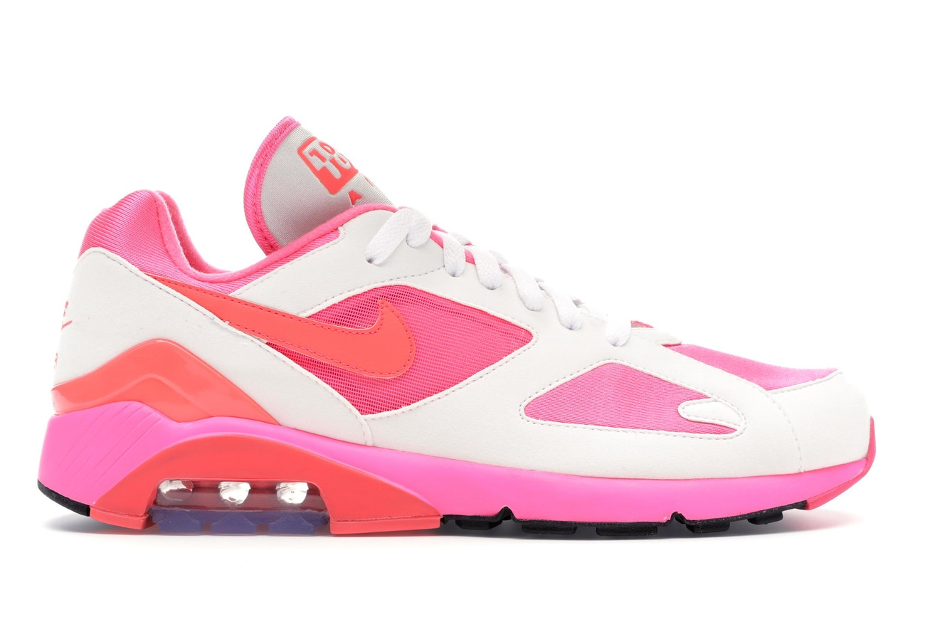 new style 55f98 7e001 Comme des Garcons x Nike Air Max 180  White