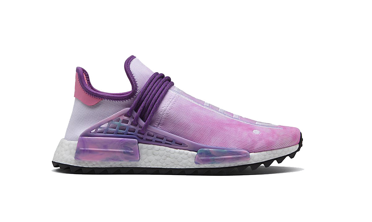 9c33222dde304 Size 8.5 Pharrell Williams x Adidas NMD HU Holi Pack  Powder Dye ...