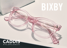 Load image into Gallery viewer, CADDIS BIXBY- POLISHED CLEAR PINK