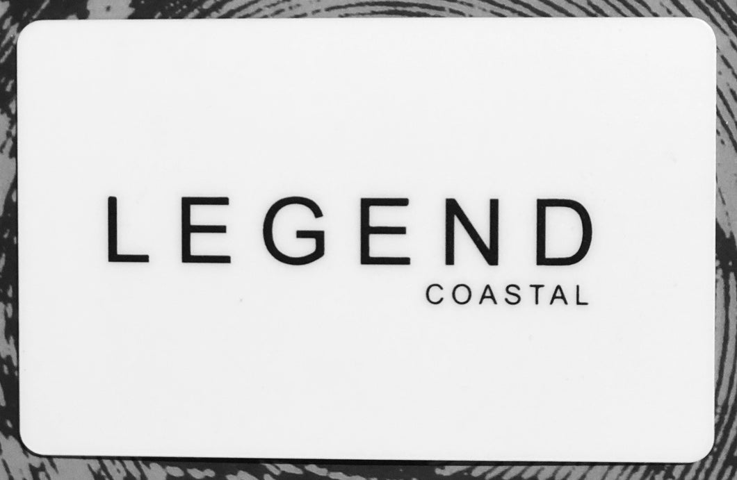 LEGEND COASTAL GIFT CARD