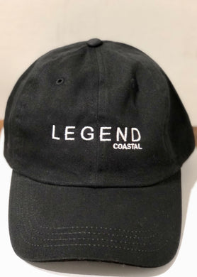 LEGEND COASTAL DAD HAT (BLACK & STONE)