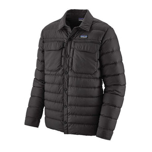 Men's Silent Down Shirt Jacket