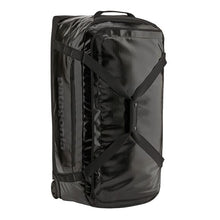 Load image into Gallery viewer, PATAGONIA BLACK WHOLE WHEELED DUFFEL 100L
