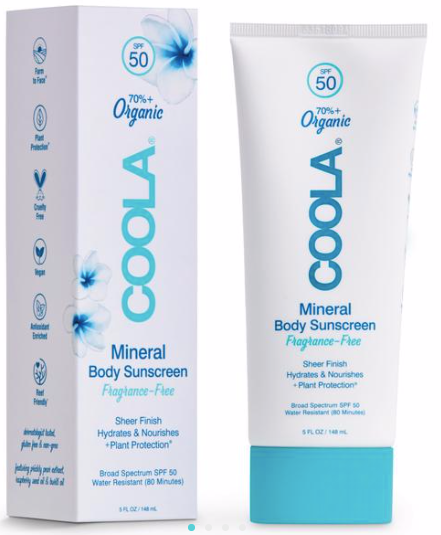 5 oz. COOLA SPF50 Organic Mineral Sunscreen Unscented
