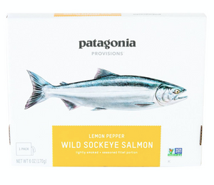 Wild Sockeye Salmon, Lemon Pepper 6oz