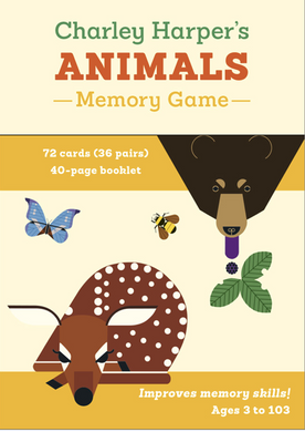 Charley Harper's Animals Memory Game