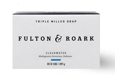 F&R 8.8oz Bar Soap- Clearwater