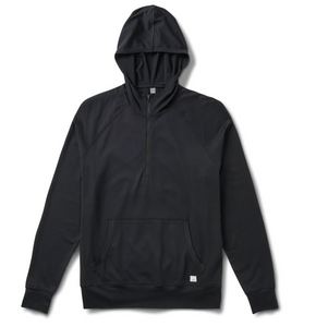 Ponto Performance 1/2 Zip Hoodie- Black *Please Call 949.877.6776 or Enter Info Below to Purchase