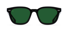Load image into Gallery viewer, Myles- Crystal Black/Green Polarized