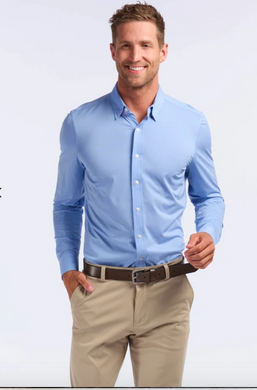 Commuter Dress Shirt- Blue