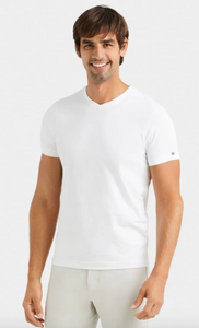 Eco Element V-Neck Tee- White