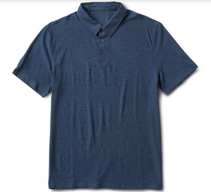 Strato Tech Polo Navy Heather *Please Call 949.877.6776 or Enter Info Below to Purchase