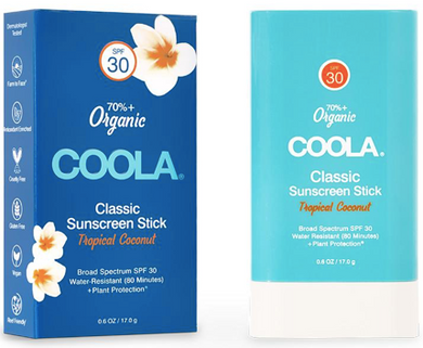 COOLA Classic Stick SPF30 .6oz Tropical Coconut