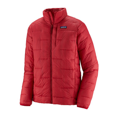 Men's Macro Puff Jacket- Classic Red