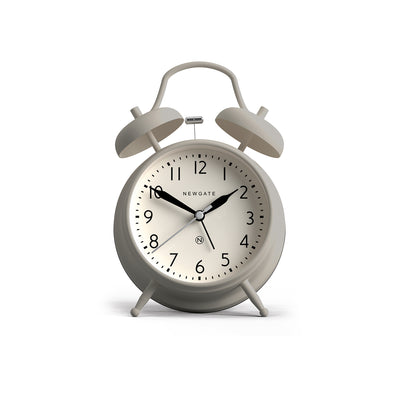 Classic Twin-Bell Alarm Clock - Matt Overcoat Grey - CGAM587OGY