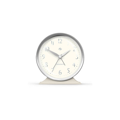 Decorative Alarm Clock - Cream & Silver - Newgate - Hotel HOTE651LGY