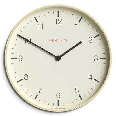 Modern Scandi Wall Clock - Extra-Large Minimalist Plywood - Newgate Mr Clarke MRC159PLY53