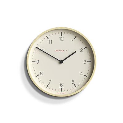 Modern Scandi Wall Clock - Small Minimalist Plywood - Newgate Mr Clarke MRC159PLY28