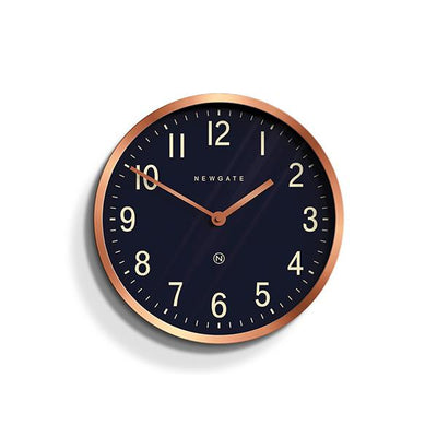Modern Copper Wall Clock - Small - Newgate Master Edwards LUGG372RAC