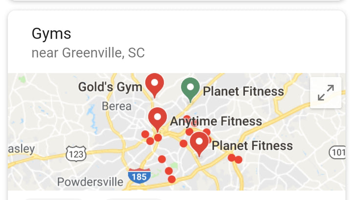 #1 GYMS IN GREENVILLE SC