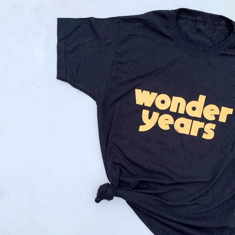 Child's WONDER Years Tee