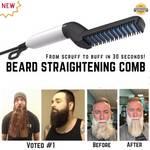 LIMITED STOCK-Beard/Hair Straightening Comb