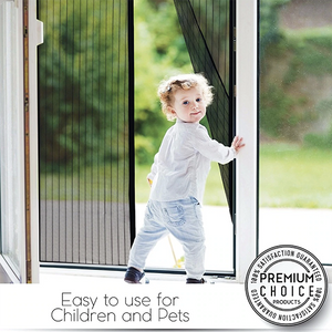 Anti-Bug Magnetic Mesh Screen Door