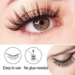LIDDY™ - REUSABLE SELF-ADHESIVE NATURAL CURLY EYELASHES