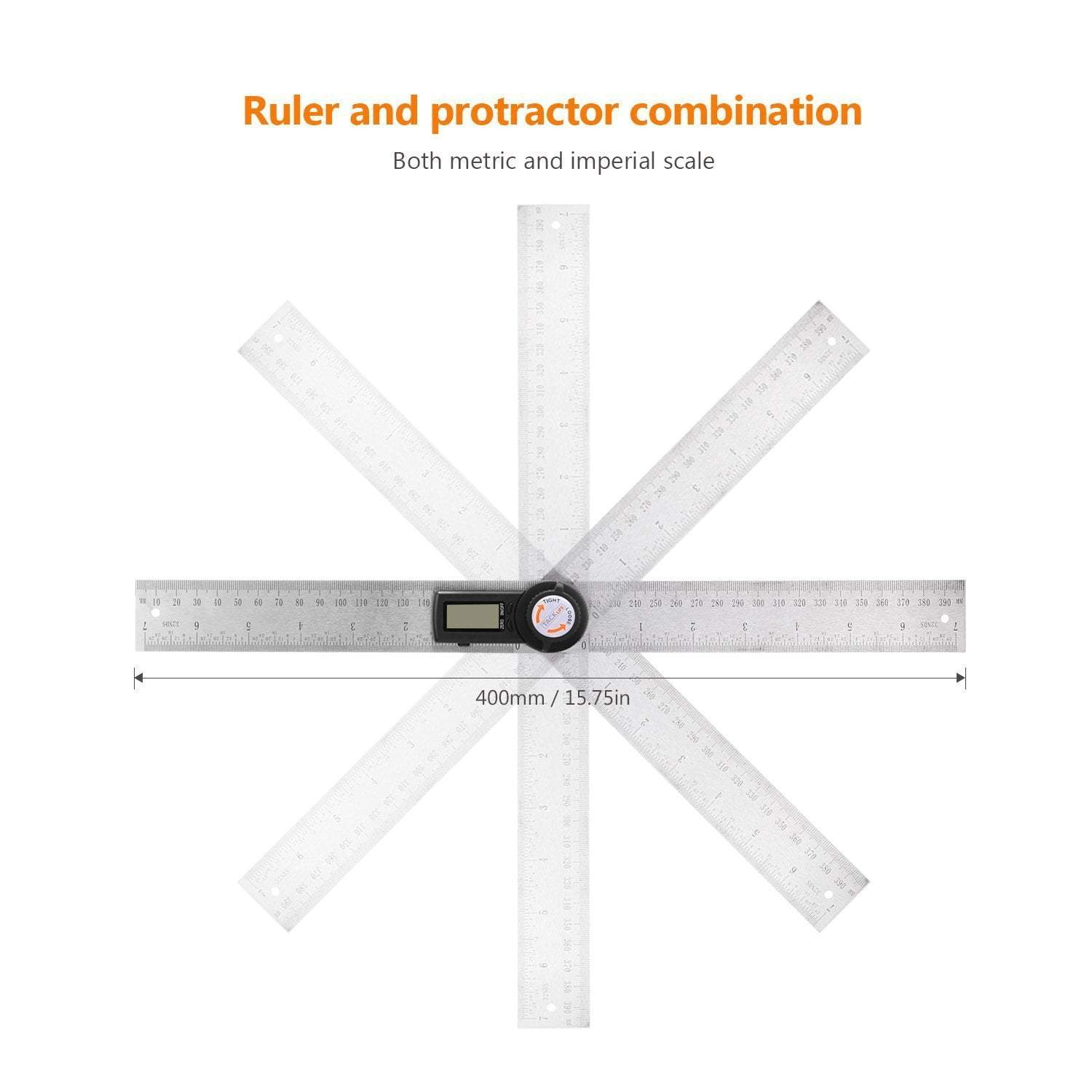 Premium Digital Angle Ruler