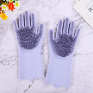 Magic Dishwashing Gloves (one pair)