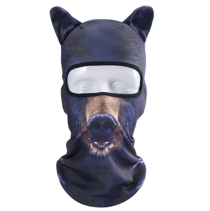 3D Animal Balaclava For Snowboarding, Skiing, Bicycle or other Outdoor activities