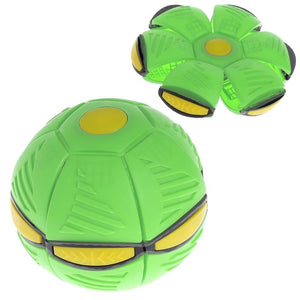Flying UFO Flat Throw Disc Light Ball