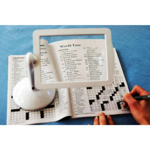 3X LED Magnifier Reading Viewer