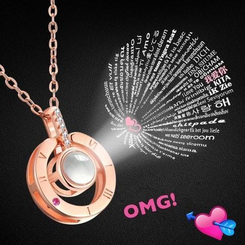100 Languages I Love You Necklace -Holiday preferential