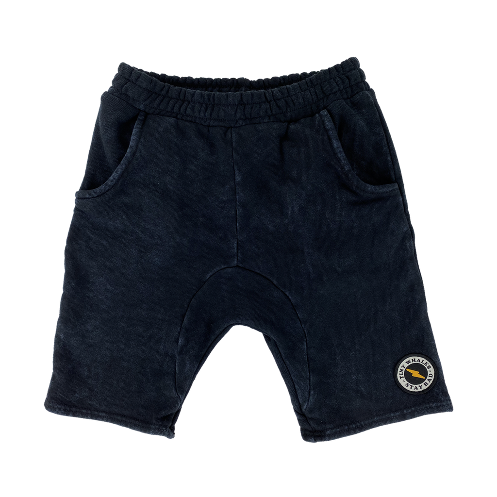 Tiny Whales Asphalt Cozy Shorts