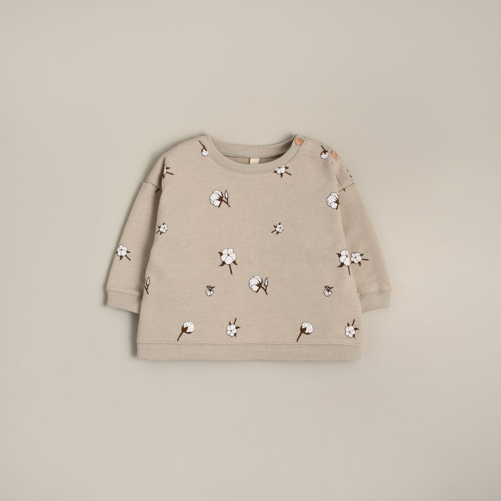 Organic Zoo Sweatshirt - Cotton Field