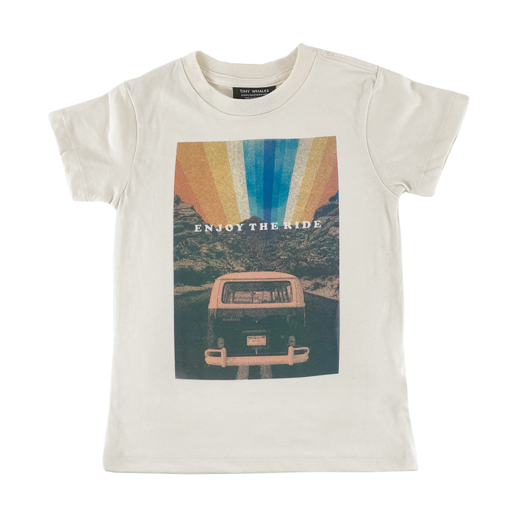 Tiny Whales Tee Enjoy The Ride