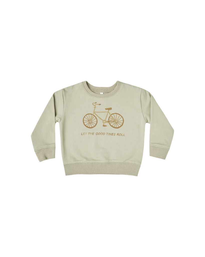 Bike Terry Sweatshirt - Sage