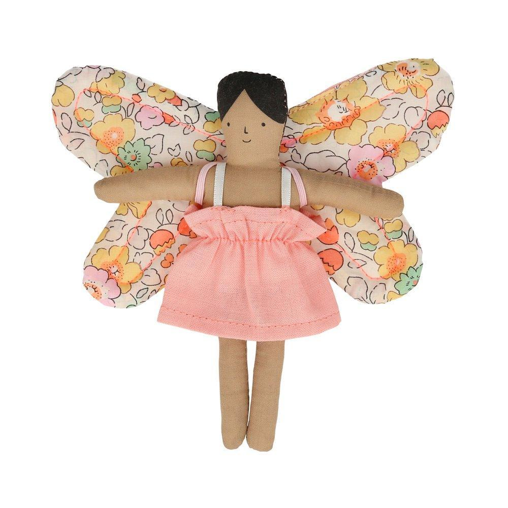 Doll and Mini Suitcase - Butterfly Daisy