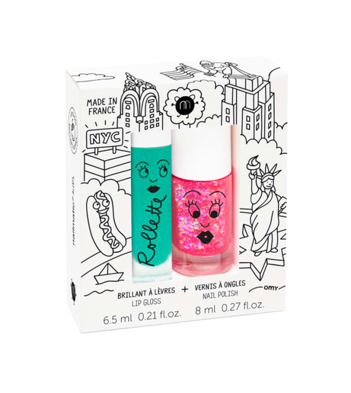 New York Rollette Nail Polish Duo