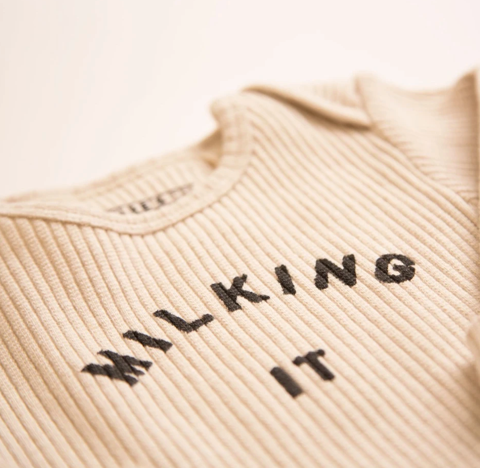 Milking It Body Suit - Oatmeal