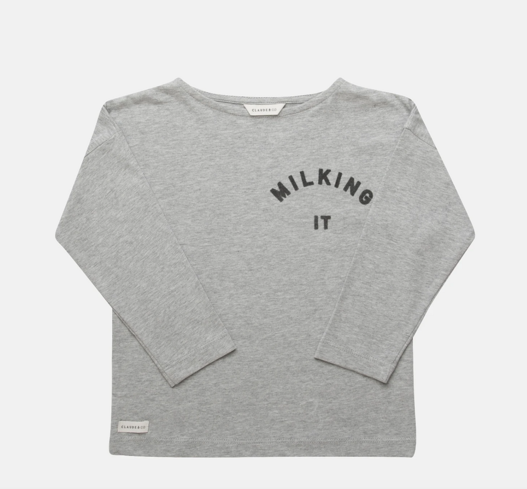 Milking It Long Sleeved Tee