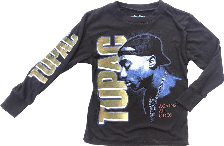 Rowdy Sprout Unisex Longsleeve Tee - Tupac