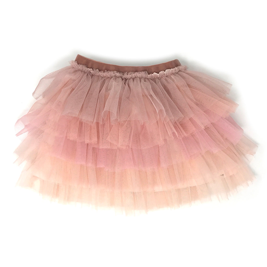 Ombre Stardust Skirt - Blush