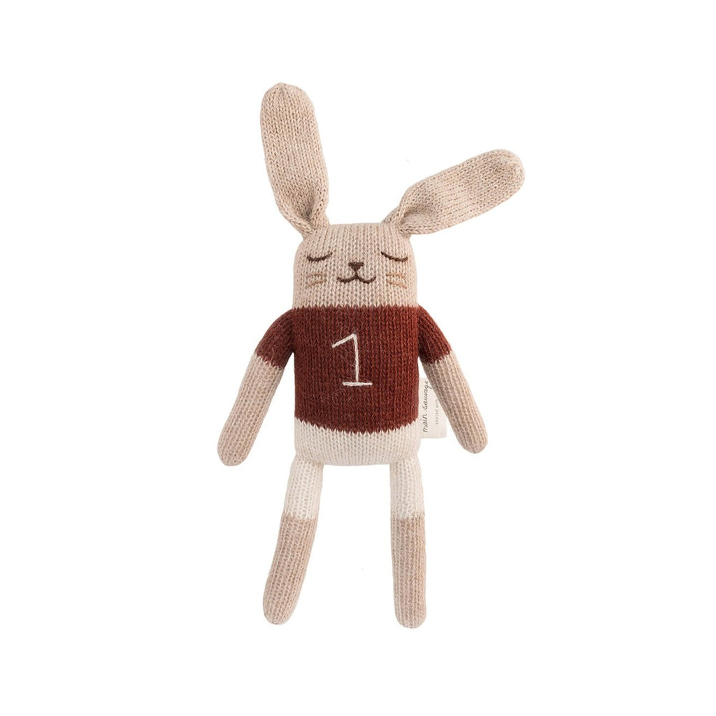 Bunny Soft Knit Toy - Sienna Shirt