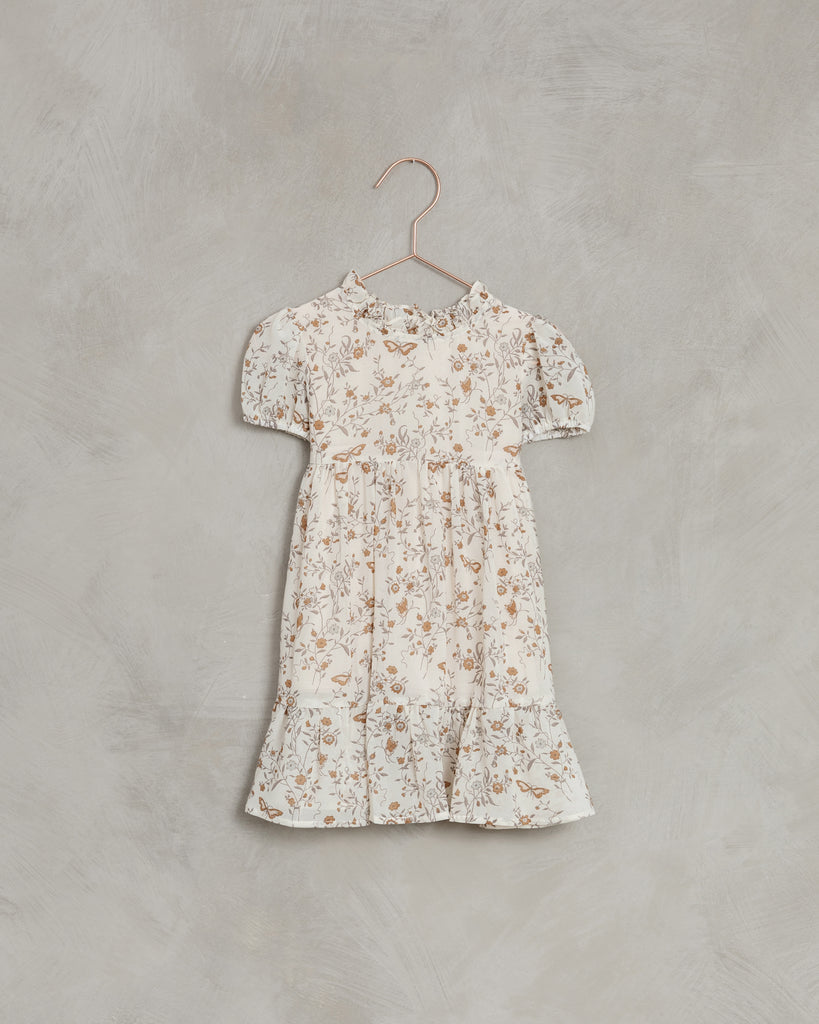 Butterfly Garden Wendy Dress - Ivory