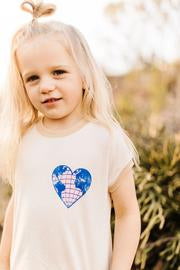 Tiny Whales Love Your Mother Ringer Tee