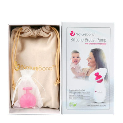 Silicone Breast Pump with Silicone Stopper And Strap
