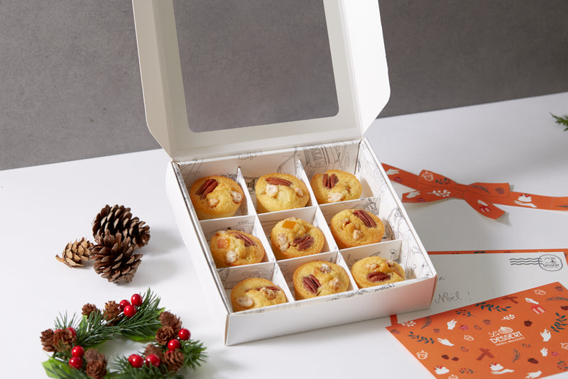 9-Financier Box - Christmas Edition